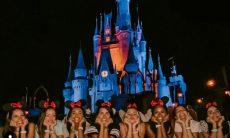 Bailarinas do Faustão aproveitam as férias para ir à Disney