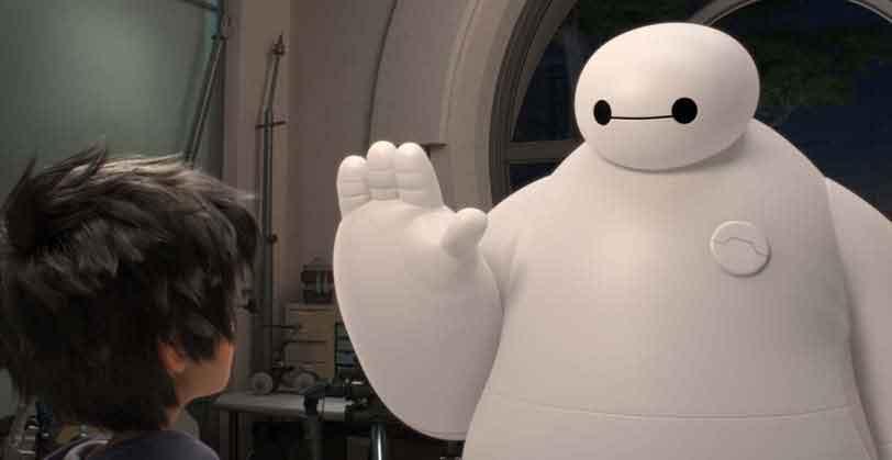 Globo exibe o filme Operação Big Hero , hoje (5/1) na Temperatura Máxima
