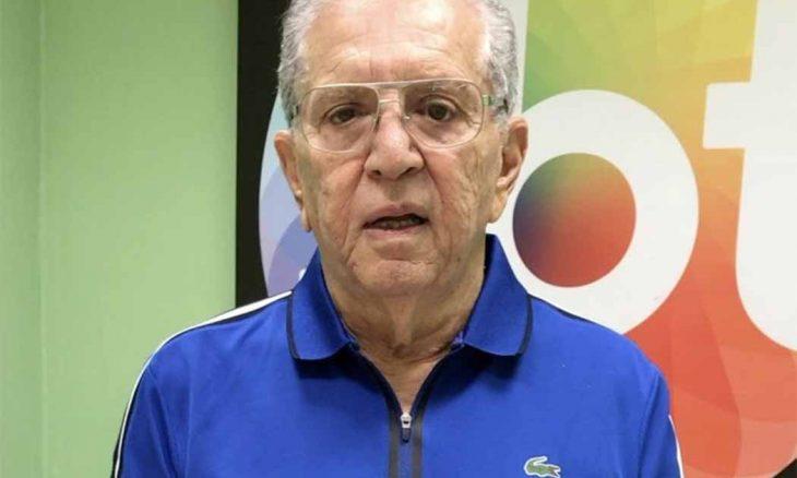 Carlos Alberto de Nóbrega é internado com quadro de infecção generalizada