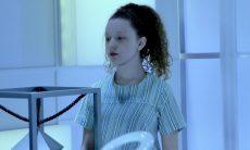 """Mário desconfia que Ester é um robô. Quarta (22/1), em """"As Aventuras de Poliana"""""""