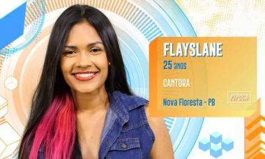 Flayslane, 25 anos, de Nova Floresta (PB)