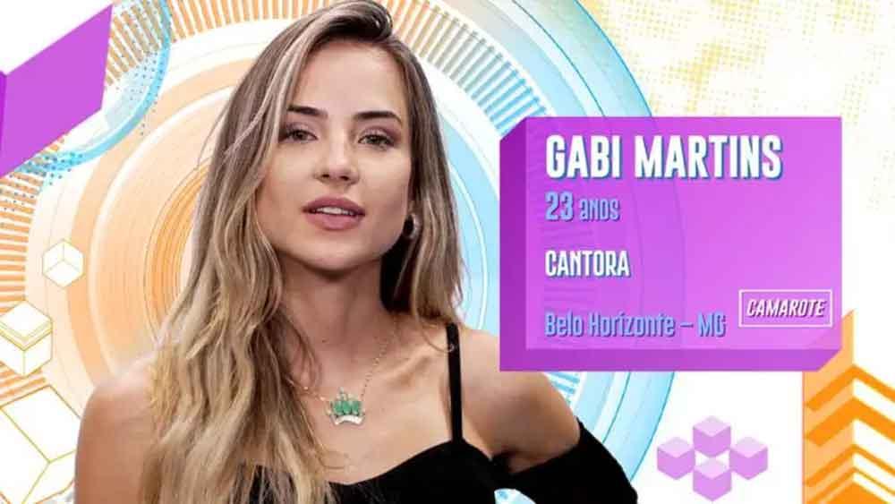 Gabi Martins, 23 anos, de Belo Horizonte