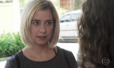 """Lígia se recusa a compartilhar a guarda de Nina. Sexta (31/1), em """"Malhação"""""""