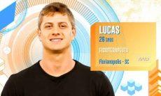 Lucas, 26 anos, de Florianópolis