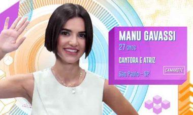 Particpantes do BBB 20: Manu Gavassi, 27 anos, de São Paulo