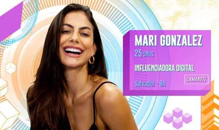 Particpantes do BBB 20: Mari Gonzalez, 25 anos, de Salvador (BA)