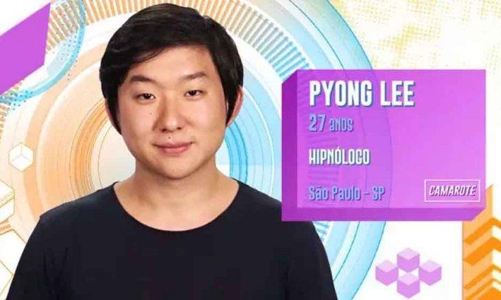 Pyong Lee, 27 anos, de São Paulo