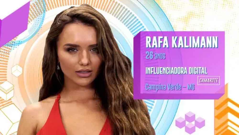 Rafa Kalimann, 26 anos, Campina Verde (MG)