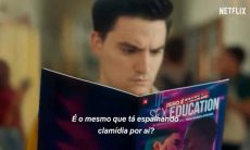 Netflix publica vídeo de 'Sex Education' com Felipe Neto