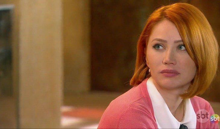 """Sophie escuta as descobertas das crianças do Clubinho. Segunda (13/1), em """"As Aventuras de Poliana"""""""