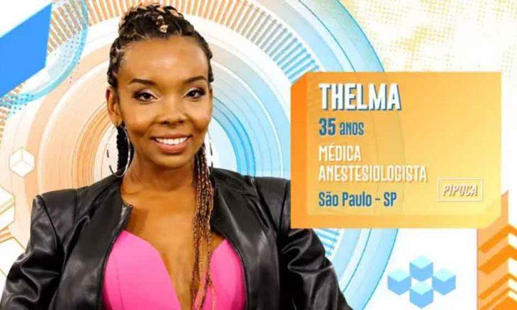 BBB 20: Thelma, 35 anos, de São Paulo