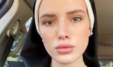 Em carreira pornô, ex-atriz da Disney posta foto vestida de freira