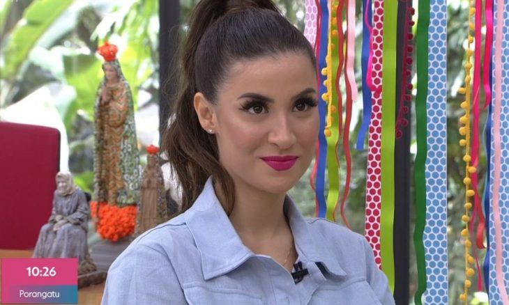 """BBB20: Bianca Andrade revê cenas com Guilherme no """"Mais Você"""""""