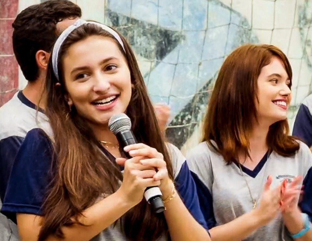 """Diana e Marquinhos vencem o debate sobre os livros na escola. Sexta (7/2), em """"Malhação"""""""