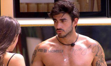BBB20: 'Acho que eu e Gabi já era', diz Guilherme