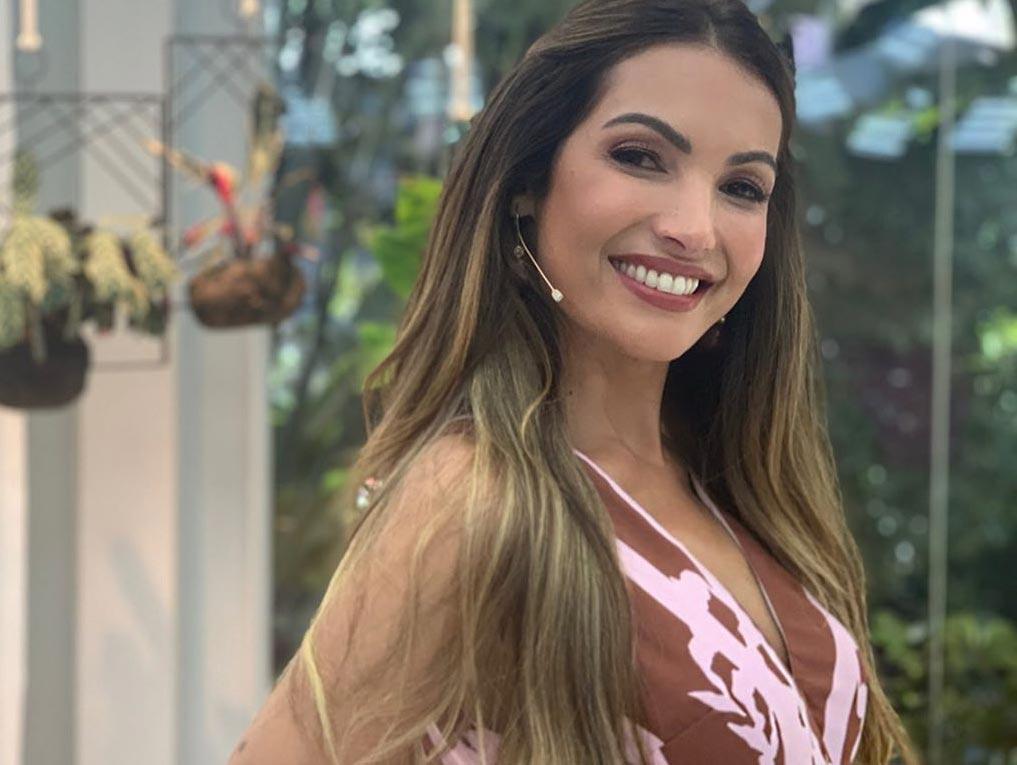 Patrícia Poeta, apresentadora do Mais Você