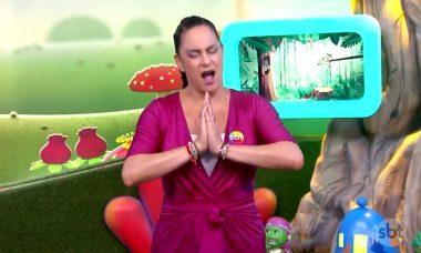Silvia Abravanel manda indireta ao vivo para produção de programa