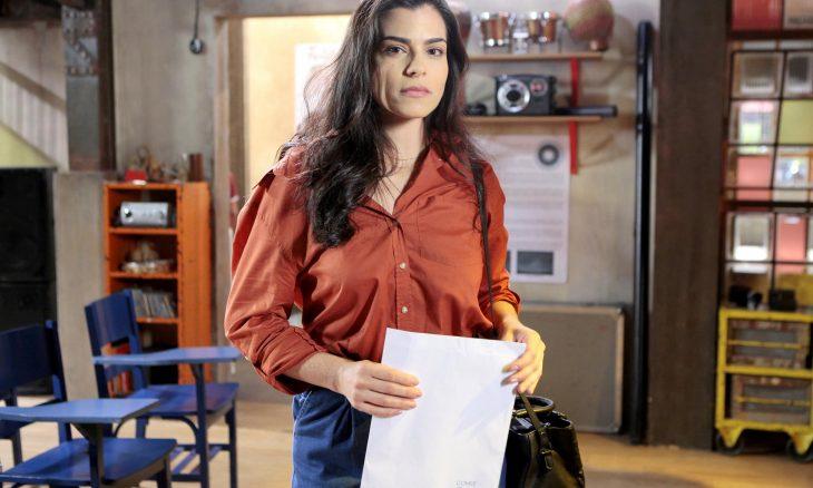 """Violeta avisa Antônio que voltou para ficar. Segunda (17/2), em """"As Aventuras de Poliana"""""""