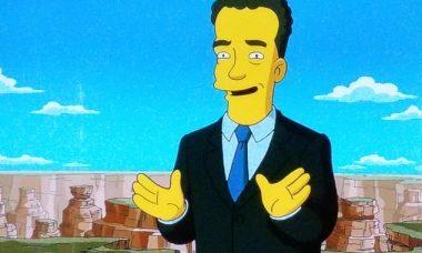 Os Simpsons 'previram' coronavírus e que o ator Tom Hanks seria infectado