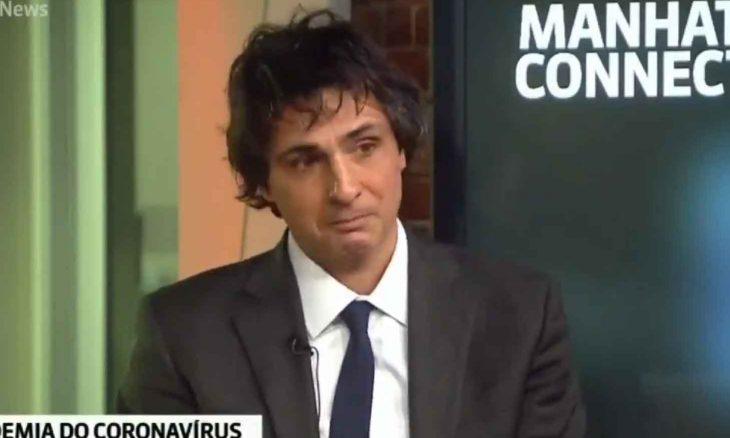 Jornalista da TV Globo chora ao vivo ao falar sobre coronavírus