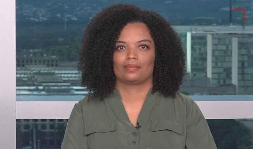 Basília Rodrigues, jornalista da CNN. Foto: Twitter