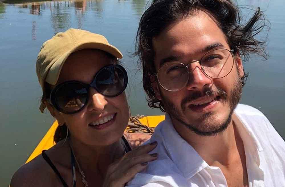 Fátima Bernardes relembra viagens ao lado do namorado: ''Juntos, sorrindo, vivendo''