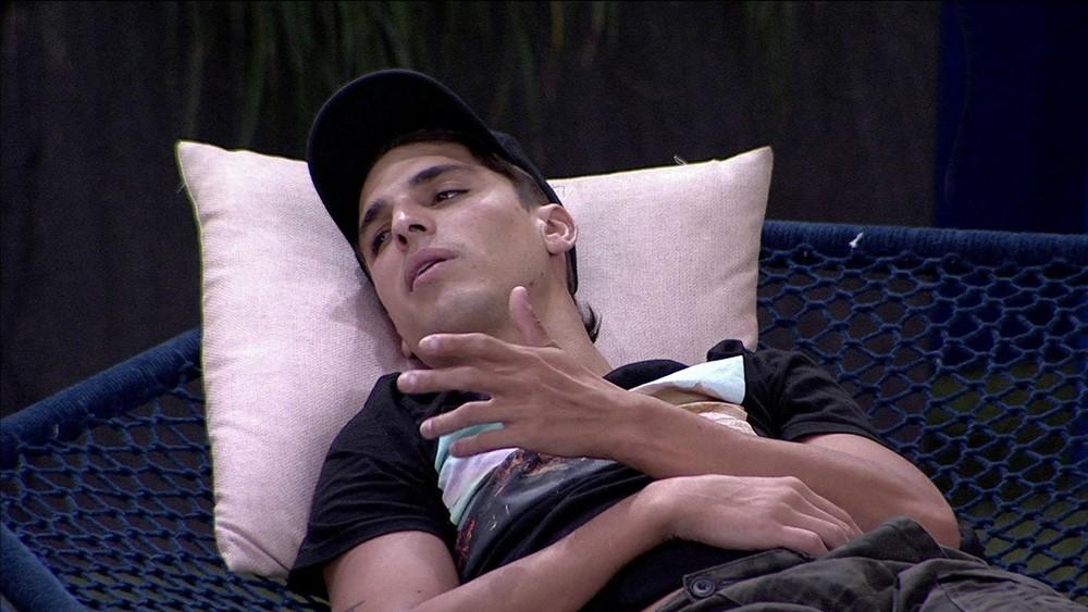 """BBB20: """"Ainda vai ter muito Paredão para eu ir se eu ficar"""", diz Felipe"""