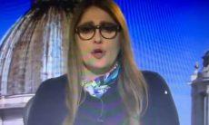 Ilze Scamparini, da Globo, segura o choro ao vivo ao falar do drama do coronavírus na Itália, veja o vídeo