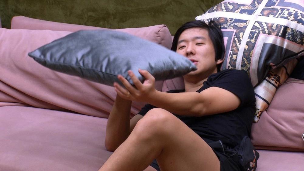 BBB20: 'Só quero que terça-feira você saia logo', diz Pyong para Felipe