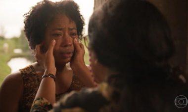 """Rita conta a Lurdes sobre Eudésio. Quarta (18/3), em """"Amor de Mãe"""""""