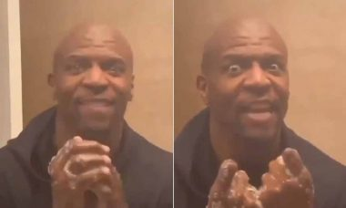 "Terry Crews, o ""pai do Chris"" ensina a lavar as mãos ao som de 'I will survive'"