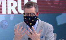 Tutorial de Márcio Gomes ensinando a fazer máscara faz sucesso e viraliza na web