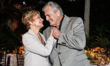Juntos há 57 anos, Glória Menezes faz homenagem para Tarcísio Meira