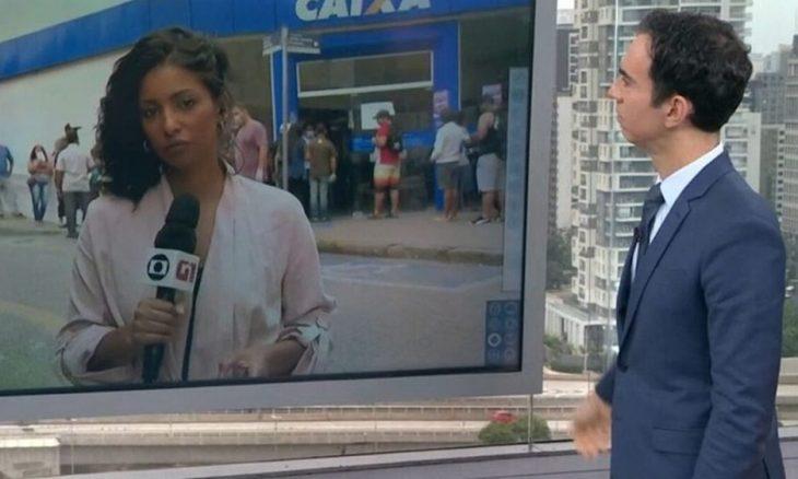 """""""Globo Lixo"""", Rede Globo volta a ser chingada durante entrada ao vivo"""