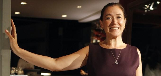 """Griselda convida Celeste para ser sua sócia em um restaurante. Quarta (29/4), em """"Fina Estampa"""""""