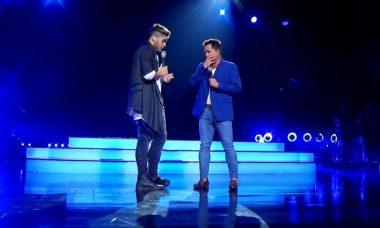 Leonardo se emociona com homenagem do filho no programa Hora do Faro