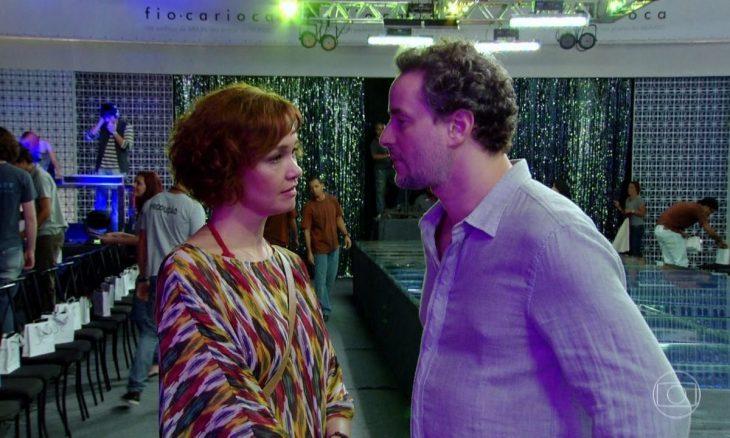 """Paulo e Esther têm uma grande discussão. Terça (21/4), em """"Fina Estampa"""""""