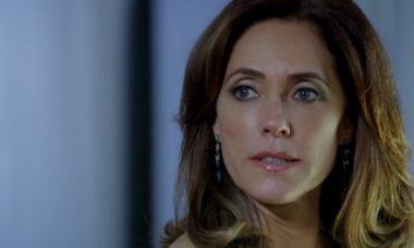 """Tereza Cristina sofre uma ameaça. Hoje (27/4), em """"Fina Estampa"""""""