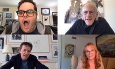 """Elenco de """"De Volta para o Futuro"""" se reúne em videoconferência"""