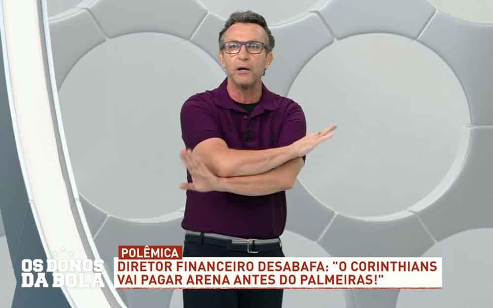 Neto revela que Band cortou seu salário: 'fez muito bem'