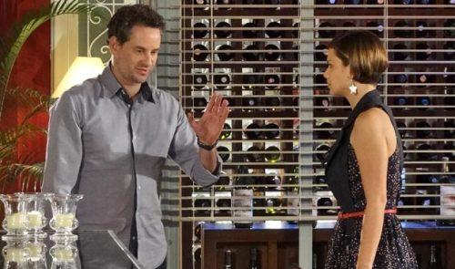 """Vanessa e Paulo se beijam. Quinta (21/5), em """"Fina Estampa"""""""