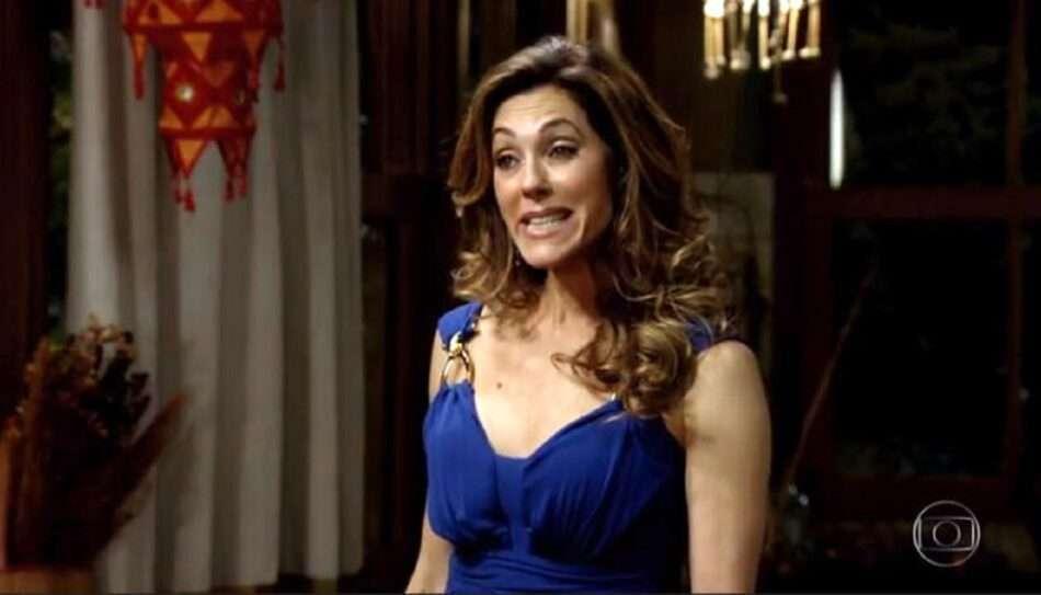"""Tereza Cristina pede para Ferdinand atear fogo à mansão de Griselda. Sábado (30/5), em """"Fina Estampa"""""""