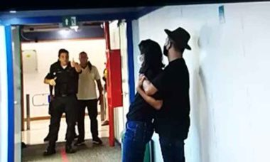 Homem com faca invade sede da Globo e faz repórter de refém