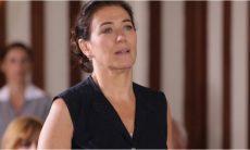 """Griselda descobre que Renê foi expulso de casa e do Le Velmont. Hoje (1º/6), em """"Fina Estampa"""""""