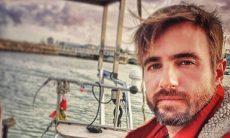 """Ficarei pelo menos uns 10 anos vivendo embarcado"", conta ator Max Fercondini"