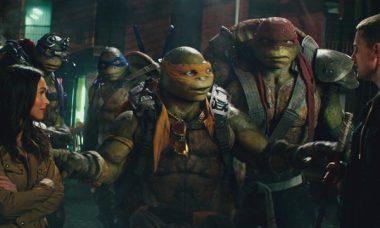 """""""As Tartarugas Ninja - Fora Das Sombras"""" é o filme da Temperatura Máxima desde domingo (2)"""