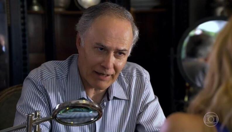 """Tereza Cristina descobre que Barinski é o falso investidor do Brasileiríssimo. Quarta (8/7), em """"Fina Estampa"""""""