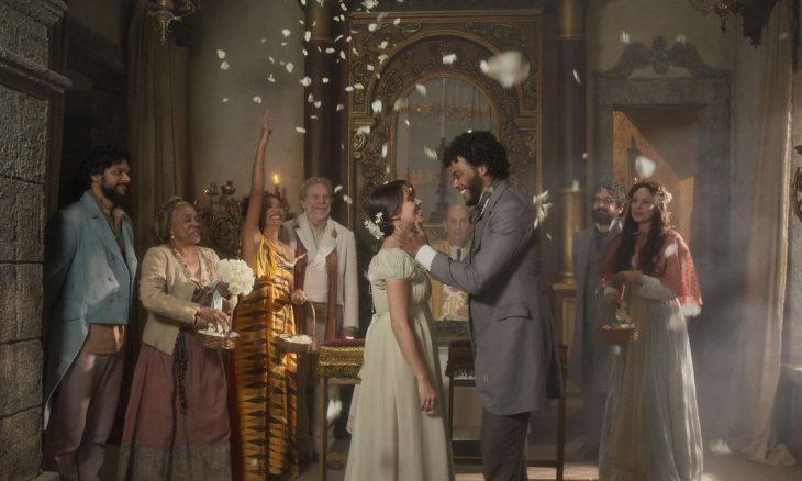 """Cecília e Libério se casam. Terça (14/7), em """"Novo Mundo"""""""