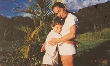 Cissa Guimarães faz homenagem ao filho Rafael