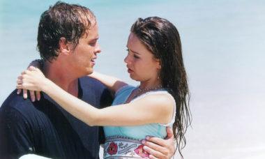 Guilherme Fontes relembra beijo com Sandy em novela